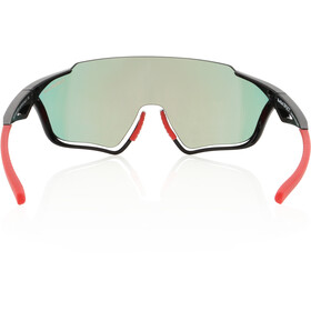 Red Bull SPECT Pace Lunettes de soleil, glossy black/smoke-red